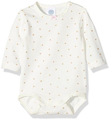 Sanetta Baby-Mädchen Body 322170, Elfenbein (Broken White 1427), 98