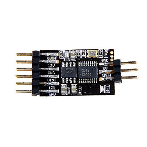 Crazepony Foxeer 5.8G 3CH Video Switcher Module 3-way Video Switch Unit for Multicopter FPV Camera