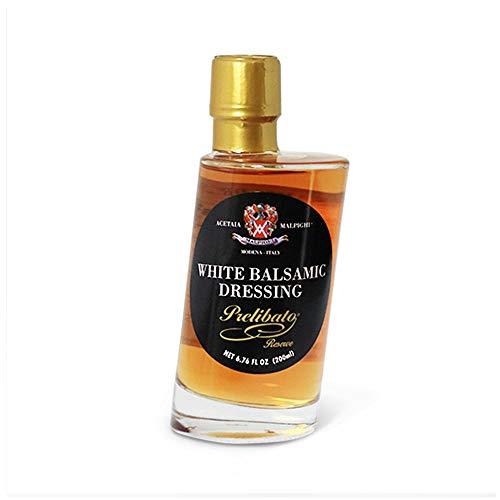 Malpighi Prelibato Riserva Aged White Balsamic Vinegar - Aged 8 years (6.7 oz Bottle)