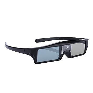 VBESTLIFE DLP Link 3D Gafas, DLP Active Shutter 3D Gafas para ...