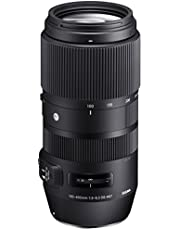 Sigma 100-400 mm F5-6,3 DG OS HSM Objectief, 67 mm Filterschroefdraad, voor Canon, Zwart