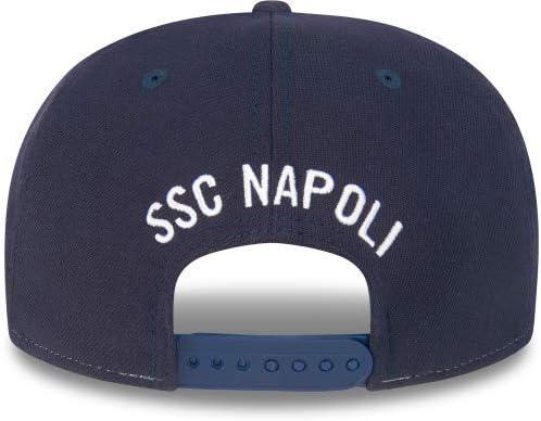 Cappello Unisex Navy Adulto ML ssc napoli 9fifty Stretch-Snap