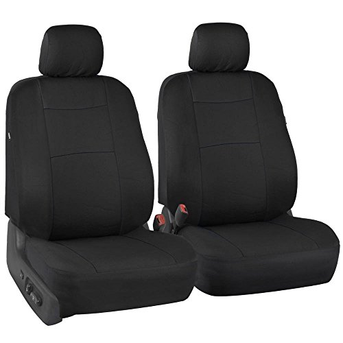 FREE SHIPPING PolyCloth Black Car Seat Covers