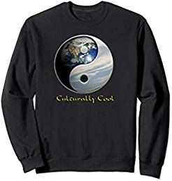Planet Earth Yin Yang Sweatshirt