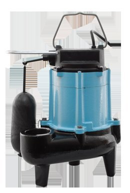 Little Giant 511346 10SN 120 GPM 115V Submersible Sewage Pump with 2'' Discharge, N/A by Little Giant