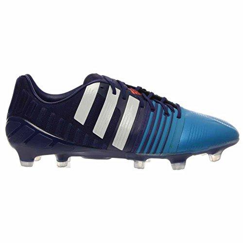 Adidas Nitrocharge 1,0 Fg Voetbal Kikkers Zonne-blauw, Amazon Paars, Wit