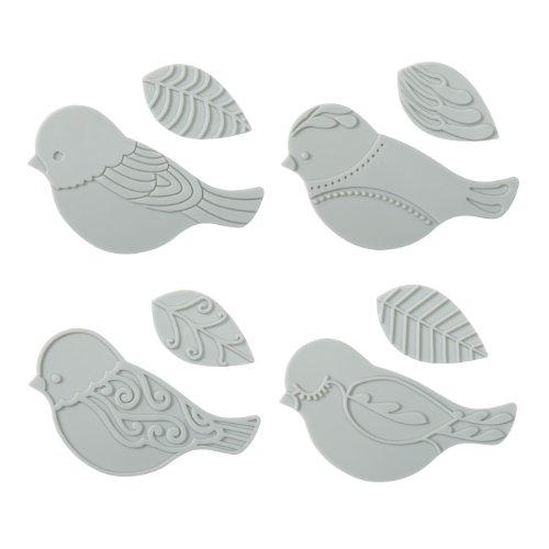 Fiskars 100930-1001 Bird Design Plate Expansion Pack, Medium, 4-Pack by Fiskars