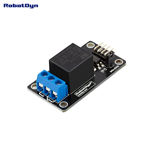 RobotDyn - Relay Module 1 channel, operation 5V. VC - 10A 110VAC/250VAC/60VDC