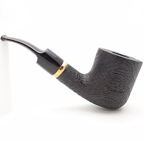 (Mr. Brog Billard Tobacco Pipe - Model No: 112 Morta Bent - Morta Wood - Hand Made)