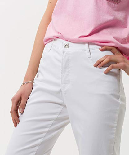 Pocket Brax Uni Premium City Para Five Blanco white 99 Pantalones Sport Mujer Iwfq6fBA