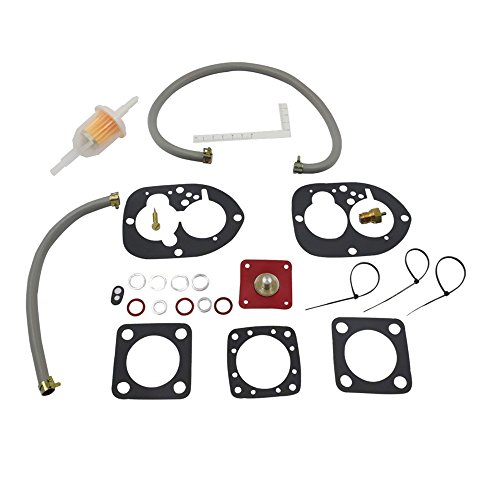 - iFJF Carburetor Repair Kit for Volvo Penta 841292 856471 856472 841836-0 Sierra 18-7000 Marine Carburetor