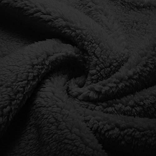 Felpe Maniche Nero Donna Tondo Lunghe Con Lunga A Camicetta Di Scollo Da Agnello Elegante Finta Casual Camicia LiucheHD Pelle In Donna Manica qtYYw81