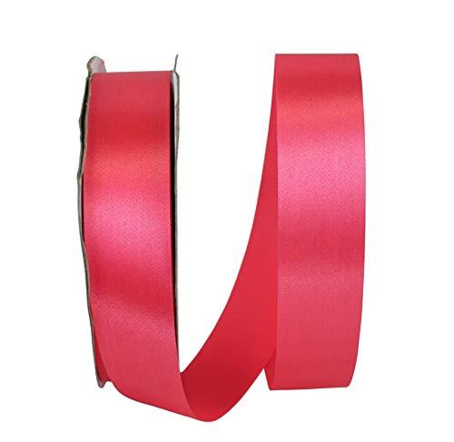 Reliant Ribbon 5500-720-09C Aqua Satin Ribbon, 1-3/8 Inch X 100 Yards, Watermelon