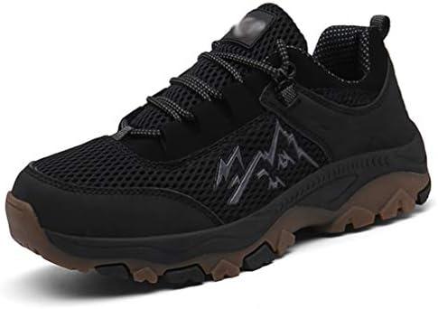 ハイキングシューズ メンズ 滑り止め ウォーキングシューズ 耐摩耗性 衝撃吸収 ハイキング アウトドアシューズ キャンプ 通気性 スポーツシューズ 運動靴 大きいサイズ 登山靴 24.5cm-29.0cm