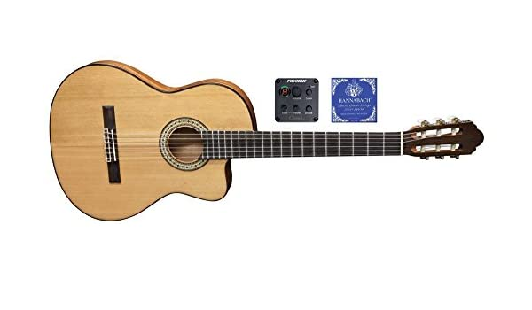 Miguel J. Almeria S - Guitarra acústica Classic premium de 10 cfeq: Amazon.es: Instrumentos musicales