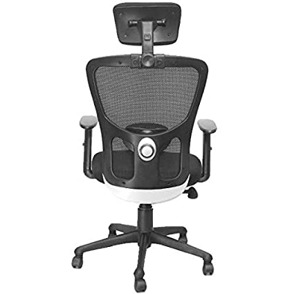 Aadinath Medium Mback Office Chair Adjustable Lumbar Support Office Chair Best Chair For Spinal Cord Most Durable And Comfortable Office Chair Executive Chair For Director Amazon In Home Kitchen