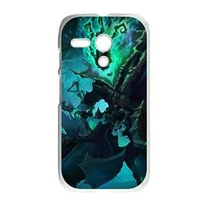 Motorola Moto G Phone Case White League of Legends-Thresh NLG7779988