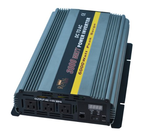 3000 Watt Power Inverter 24 Volt DC to 110 Volt AC