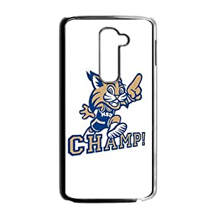 NCAA Montana State Bobcats Mascot 0 Black Phone Case for LG G2