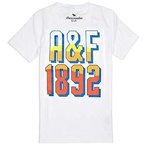 Abercrombie & Fitch Boy's Graphics, Plain or Colorblock Soft T-Shirt K-16