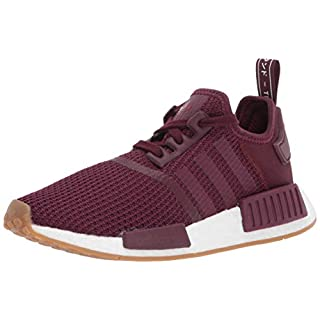 adidas Originals Men's NMD_r1 Shoe, Maroon/Collegiate Burgundy, 14 M US