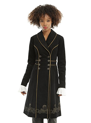 Doctor Who Embroidered TARDIS Corduroy Coat (X-Small) ()