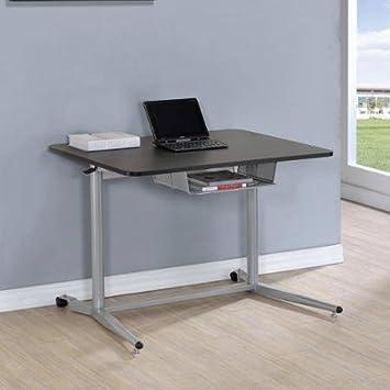 Amazoncom Height Adjustable Standing Desk Coaster Adjustable