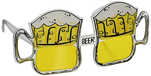 Beer Mug Fanci-Frames Party Accessory (1 count) (1/Pkg)]()