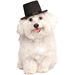 Rubies Costume Company Top Hat for Your Pet, Medium/Large