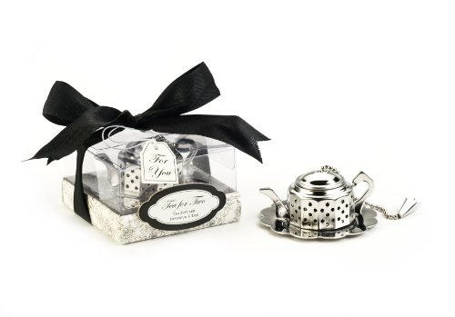 Kate Aspen 13022NA Tea for Two Teapot Tea Infuser