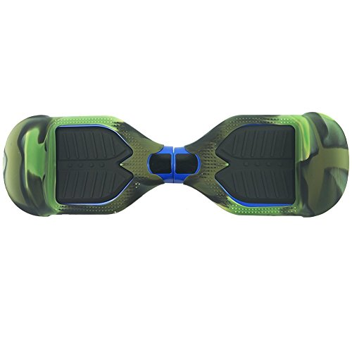 Hoverboard Silicone Case for SWAGTRON T1 Electric Self Balancing Scooter Full-Body Scratch Protector Cover Shell Skins Camo