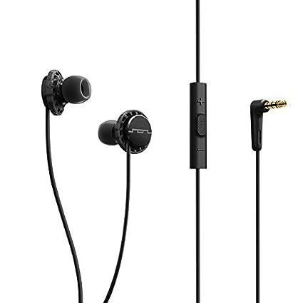 b8b5fff052d Amazon.com: SOL REPUBLIC 1131-31 Relays 3-Button In-Ear Headphones - Black:  Home Audio & Theater