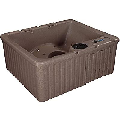 Essential Hot Tubs Newport - 14 Jets, Lounger Rotationally Molded, Cobblestone