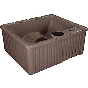 Essential Hot Tubs - Newport - 14 Jets, Lounger Rotationally Molded, Millstone