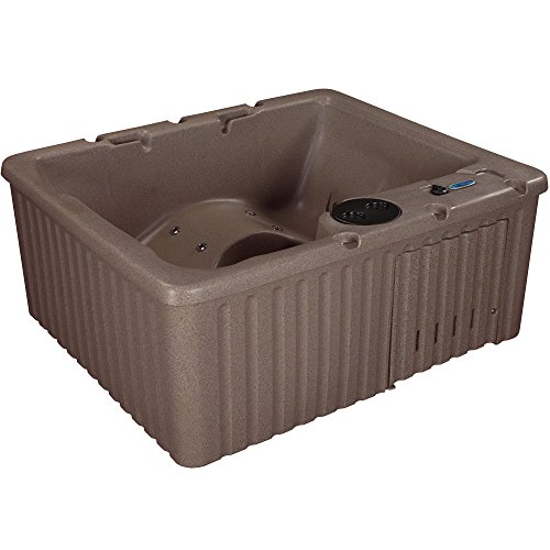 (Essential Hot Tubs SS125210200 Newport-14 Jet Hot Tub, Millstone)