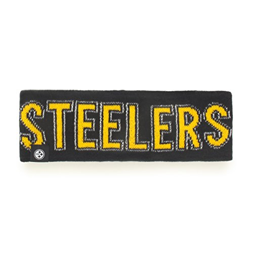 NFL Pittsburgh Steelers Women's '47 Ellie Headband, Black, One Size