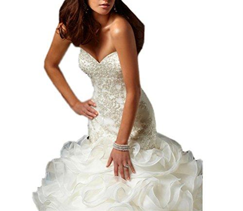 d4e76f5c749 Home Bride Dresses Tsbridal Mermaid Wedding Dress 2017 Beaded Sweetheart  Bride Dresses.   