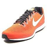 Nike Men's Air Zoom Pegasus 34 Running Shoes Team Orange 10.5 M US