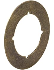 Prime-Line Products U 9498 Backplate, 3-1/2-Inch, Antique Brass