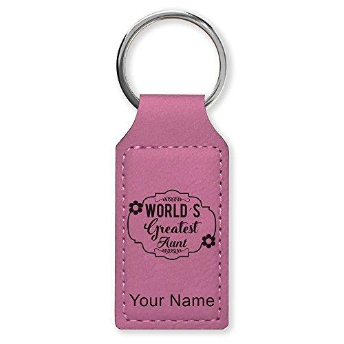 Rectangle Keychain, World