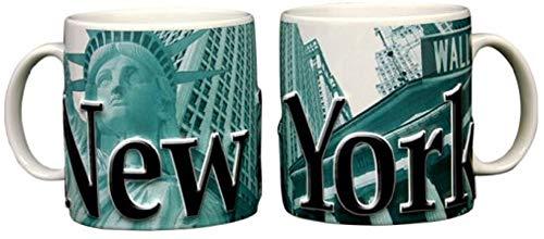 Americaware SMNYC02 New York 18 oz Duo Tone Green Relief Mug]()