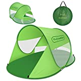 multifun Pop up Tent, Anti UV Portable Beach Tent Sun Shelter Outdoor Ventilated Automatic Sunshade Tent, Waterproof Easy Folding Camping Cabana for 2-3 People, with Carrying Bag