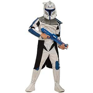 Rubie`s - Disfraz infantil de Clone Trooper Rex Deluxe en caja (883392-M)