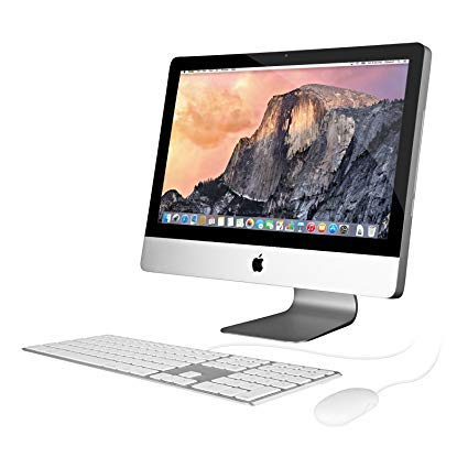 Apple iMac MC812LL/A Intel Core i5-2500S X4 2.7GHz 4GB 1TB DVD+/-RW 21.5in (Silver) (Renewed)