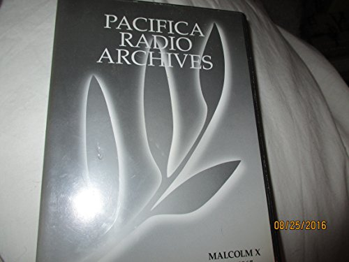 Pacifica Radio Archives - The Malcolm X Collection 6 CD set