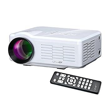 Uhappy U35 LED Portable Projector 1080P HD Multimedia Projector ...