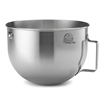 KitchenAid 5 Quart Polished Stainless Steel Mixing Bowl (ONLY To Fit KG  5 Quart
