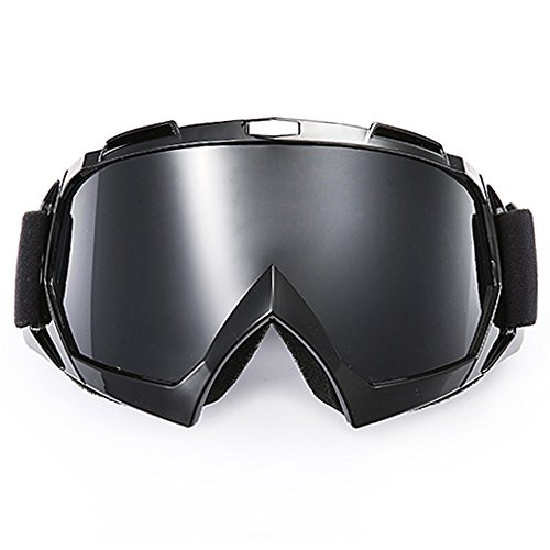 Motorcycle Goggles,Amagle Adjustable UV Protective Outdoor Tactical Glasses Dust-proof Protective Combat Goggles Military Sunglasses Outdoor Activities Protective Glasses - Prescription Glasses Combat