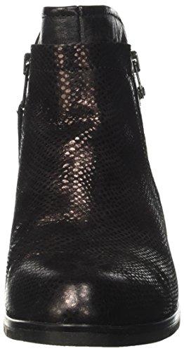 Ankle Women's Mjus Strap Pane Black Xfzn1x