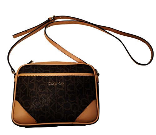 Calvin Klein Signature Small Crossbody Bag Handbag Purse Cross Body